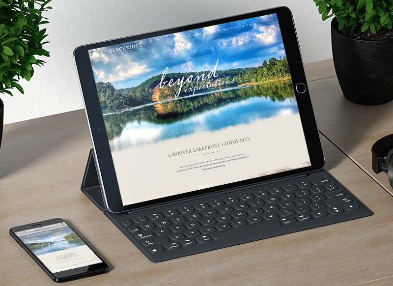 Blackridge-iPad